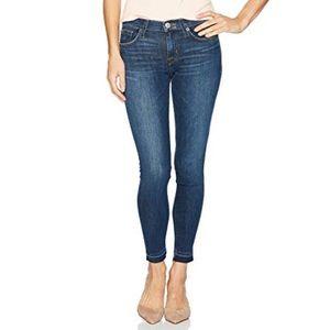 Hudson 'Krista' Release Hem Crop Skinny Jeans
